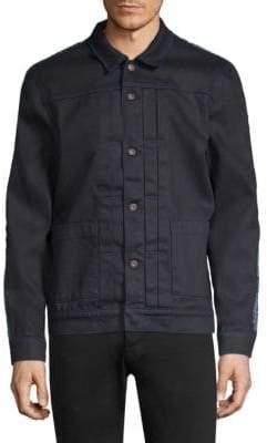 Levi's Embellished Worn Trucker Jacket