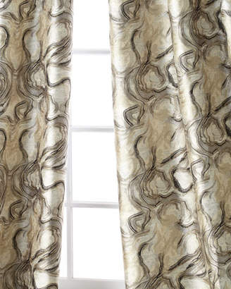 """Dian Austin Couture Home Driftwood Curtain Panel, 96""""L"""