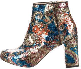 CarvenCarven Sequined Ankle Boots