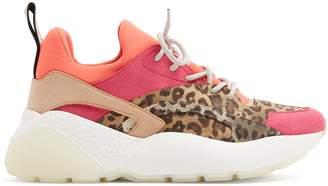 Eclypse leopard-print low-top trainers