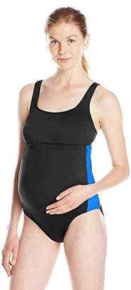 Prego Maternity Women's Maternity Sport One Piece Swimsuit