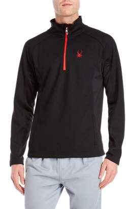 Spyder Bonded Fleece Quarter-Zip Pullover