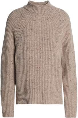 Agnona (アニオナ) - Agnona リブ編み ウール&カシミヤ混 セーター