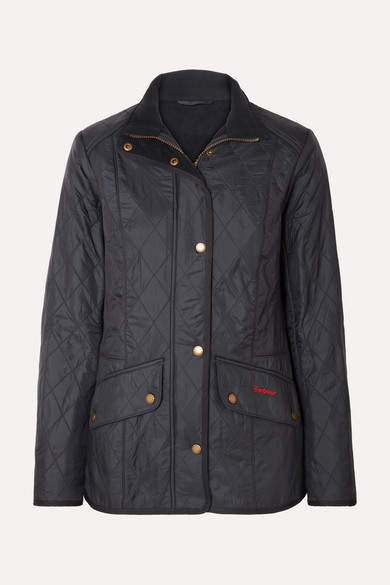 Cavalry Quilted Shell Jacket - Navy