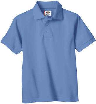 Dickies Boys Short Sleeve Pique Polo
