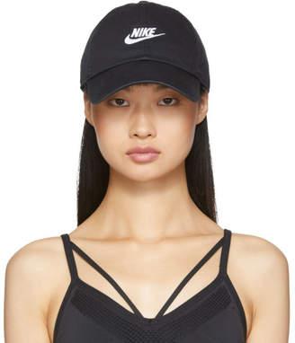 Nike Black Sportswear Heritage 86 Futura Logo Cap