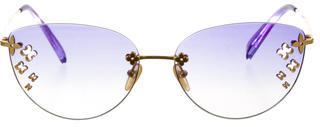 Louis VuittonLouis Vuitton Desmayo Cat-Eye Sunglasses