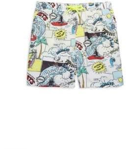 Stella McCartney Toddler's, Little Boy's & Big Boy's Taylor Cartoon-Print Swim Shorts