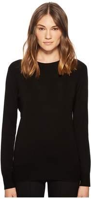Vince Slit Back Long Sleeve Women's Long Sleeve Pullover
