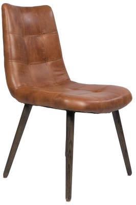 Joseph Allen Alamo Genuine Leather Upholstered Dining Chair