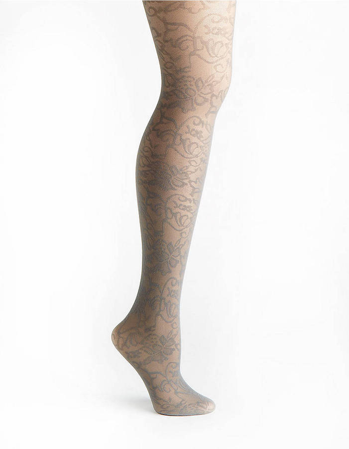 Lord & Taylor Opaque Tights - 2677