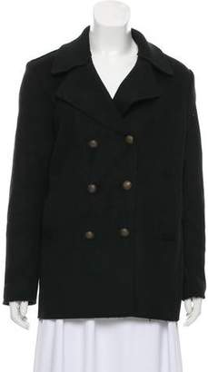 Tomas Maier Double-Breasted Wool Coat