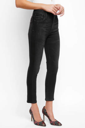 Citizens of Humanity Rocket Crop Side Striped Skinny Denim