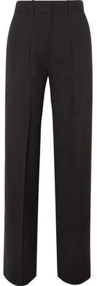 Victoria Beckham Victoria, Crepe Wide-leg Pants - Black