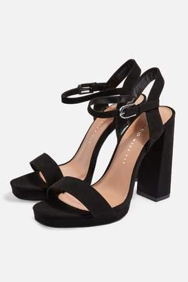 Topshop WIDE FIT SABINE Platform Sandals