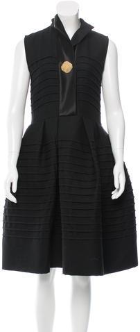 CelineCéline Wool A-Line Dress w/ Tags