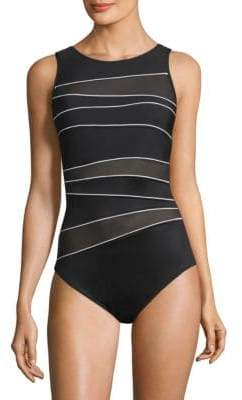 Miraclesuit Swim One-Piece Spectra Somerset Cutout Swimsuit