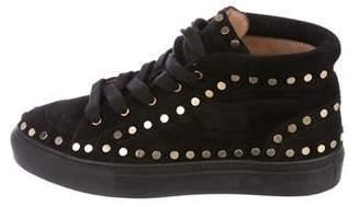 Laurence Dacade High-Top Stud Sneakers
