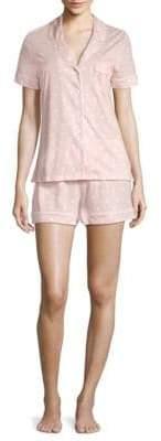 Saks Fifth Avenue Classic Knit Short Pajama Set