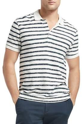 ATM Anthony Thomas Melillo Striped Piqué Polo Shirt