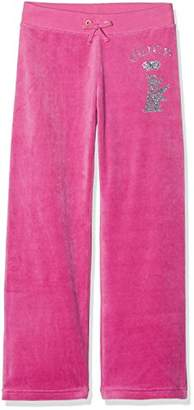 Juicy Couture Girl's TRK Scottie Crystals Mv Sports Pants