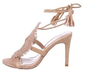 Joie Suede Braided Sandals