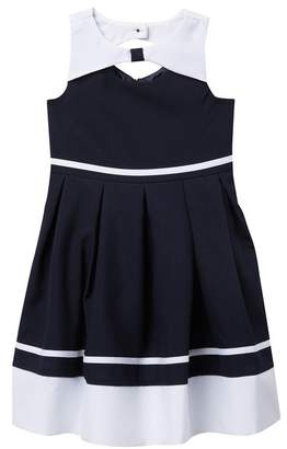 e27a5e2aaf26 Iris   Ivy Pinched Yoke Bodice Nautical Dress (Toddler   Little Girls)
