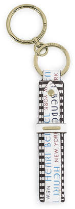 Henri Bendel Leather Key Fob