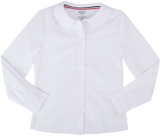 Girls 4-20 & Plus Size French Toast School Uniform Peter Pan Collar Blouse
