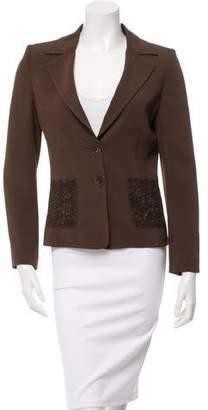 Valentino Lace-Embellished Blazer
