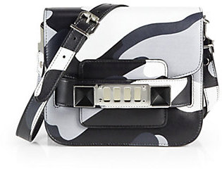 Proenza Schouler PS11 Camouflage Leather Tiny Shoulder Bag