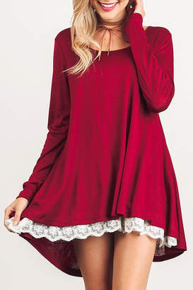 Umgee USA Long Sleeve Dress