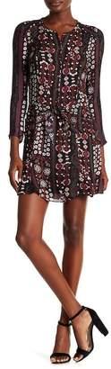 Veronica Beard Stella Button Down Silk Dress