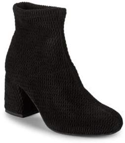 Seychelles Ad Lib Quilted Sock Booties/2.5""