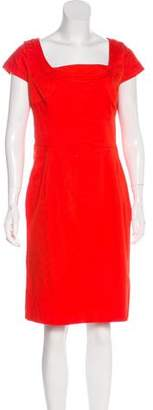 Tory Burch Scoop Neck Knee-Length Dress