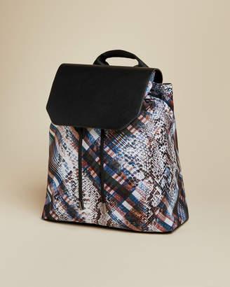 Ted Baker VICKII Quartz drawstring backpack