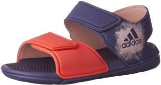 adidas Kids Altaswim C Slides, Super Purple/Haze Coral/Easy Coral