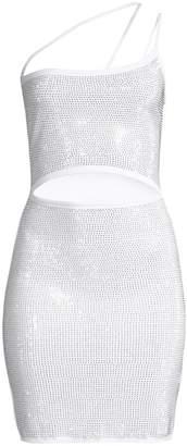 I.AM.GIA Aurora Embellished Cut Out Mini Dress