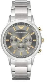 Emporio Armani Renato Stainless Steel Chronograph Bracelet Watch