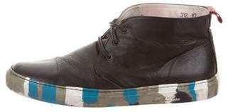 Del Toro Round-Toe Chukka Sneakers