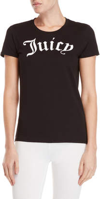 Juicy Couture Gothic Logo Classic Tee