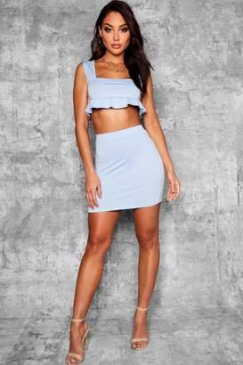 boohoo Fitted Mini Skirt