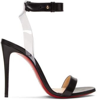 Christian Louboutin Black Jonatina Sandals