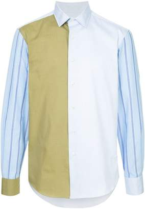 J.W.Anderson colour block shirt