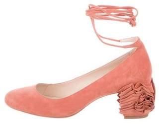 b4579760ec9d Loeffler Randall Pink Pumps - ShopStyle