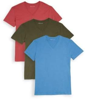 Michael Kors Three-Pack Classic Cotton Tees