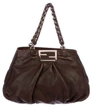 Fendi Leather Mia Tote