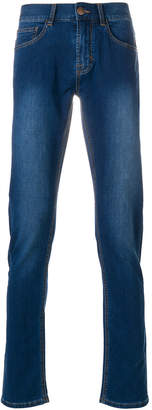 Sun 68 Texa faded effect jeans
