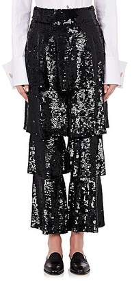 Osman Women's Felix Sequined Tiered Trousers