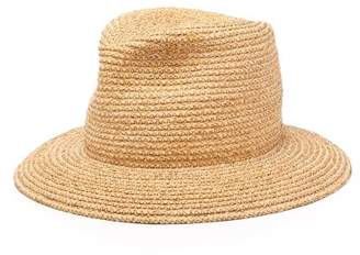 ba7873f5071d2 Albertus Swanepoel Lucca Braided Raffia Panama Hat - Mens - Beige